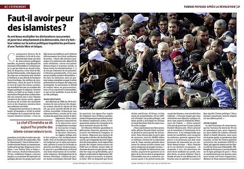 Tunisie : Faut il avoir peur des islamistes ?