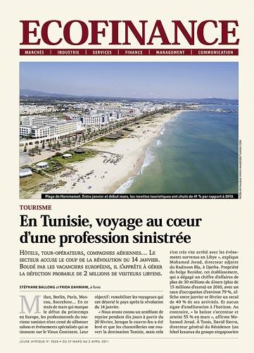 Tunisie le tourisme en crise