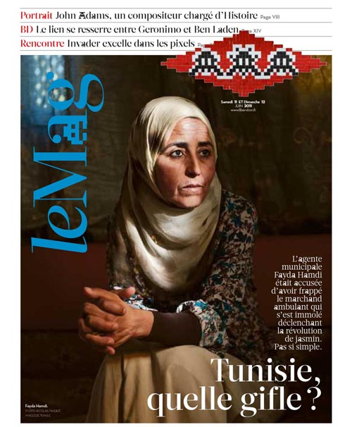 Libération couverture supplément Mag