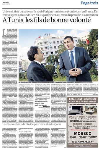 A Tunis, les fils de bonne volonté