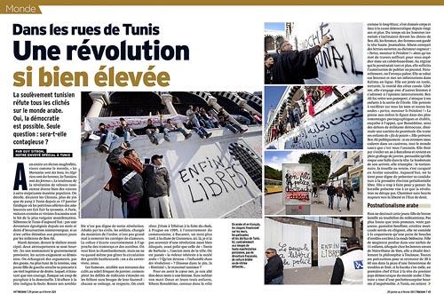 Les Graffitis de la Révolution à Tunis