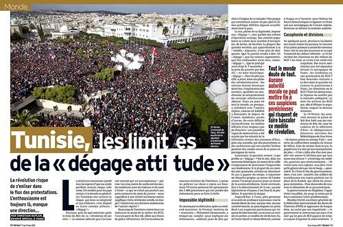 Tunisie, les limites de la dégage attitude
