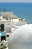 hammamet;medina;rempart;villa;coupole;