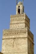 sfax;architecture-musulmane;Minaret;Mosquée;Mosquee;medina;façade