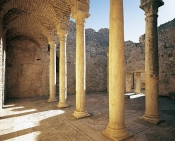 architecture-antique;antiquite;romain;dougga;thermes
