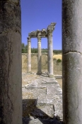 architecture-antique;antiquite;romain;dougga;temple;caelestis