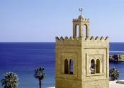monastir;architecture-musulmane;Minaret;Mosquee;Mosquée