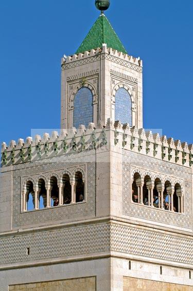 Mosqu�e;architecture;musulmane;Jam�a;el;Zitouna;Minaret;islam;Tunis;Medina;
