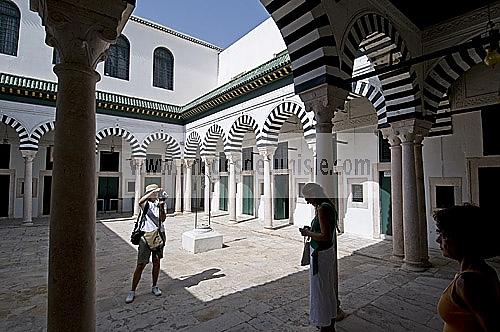 architecture musulmane;Palais;tunis;medina;M�dersa