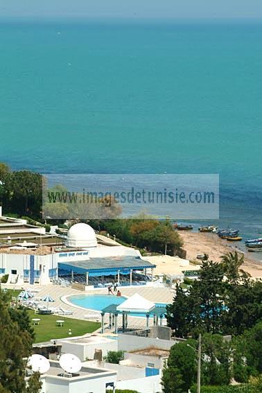 baignade;balneaire;Gammarth;plage;hotel;tourisme;