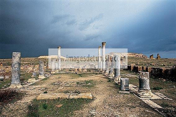 antiquite;romain;thuburbo;majus;eglise;