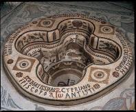 musee;bardo;antiquite;baptistere;cuve;chretien;