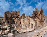 antiquite;architecture-antique;Haidra;eglise;citadelle;architecture-chretienne;chretien;basilique
