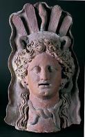 musee;carthage;demeter;punique;terre-cuite;masque;antiquit�