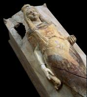 carthage;punique;sarcophage;musee;marbre;antiquit�