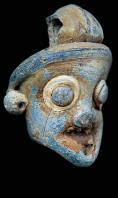 musee;bardo;punique;masque;pendentif;pate-de-verre;antiquite;