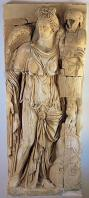 musee;bardo;romain;antiquite;bas-relief;marbre;victoire;