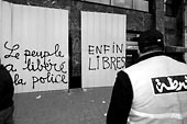 Les graffiti de la Révolution