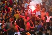 Les supporters de foot à Tunis