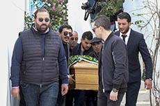 Enterrement Azzedine Alaïa