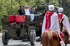 Obsèques du Président