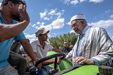 Mourou en campagne à Jendoubi