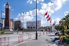 Tunis sous confinement