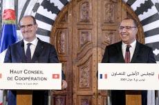 Visite Jean Castex à Tunis