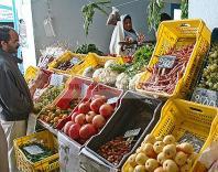 djerba;houmt;souk;ile;jerba;march�;marche;Legumes;fruits;