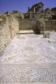architecture-antique;antiquite;romain;dougga;mosaique;villa