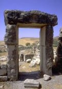 architecture-antique;antiquite;romain;dougga;porte