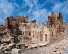 antiquite;architecture;antique;Haidra;eglise;citadelle;architecture;chretienne;chretien;basilique;