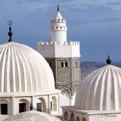 le-kef;architecture-musulmane;Mosquee;Minaret;coupole