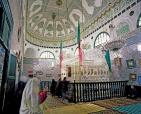 architecture;musulmane;mausolee;medina;tunis;plafond;
