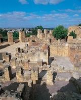 carthage;byrsa;villa;punique;antiquité