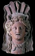 musee;carthage;demeter;punique;terre-cuite;masque;antiquité
