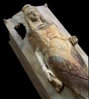 carthage;punique;sarcophage;musee;marbre;antiquité