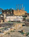 antiquite;romain;thuburbo;majus;capitole;villa;temple;
