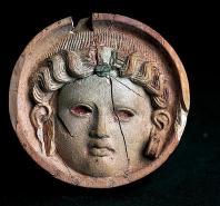 musee;carthage;punique;medaillon;ivoire;antiquit�