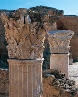 antonin;thermes;colonne;chapiteau;carthage;antiquit�;romain