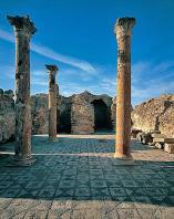 antiquite;romain;thuburbo-majus;thermes
