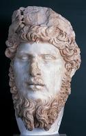 musee;bardo;romain;antiquite;buste;empereur;marbre;tete;lucius-verus;