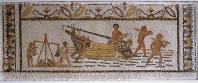 musee;bardo;romain;antiquite;mosaique;esclave;mer;navire;vie-quotidienne;