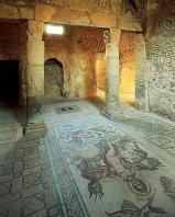 architecture-antique;antiquite;romain;villa;mosaique;amphitrite
