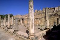 architecture-antique;antiquite;romain;dougga;villa