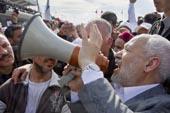 Arrivée de Ghannouchi à Tunis