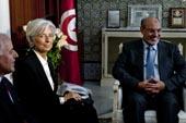 Visite Christine Lagarde, FMI