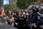 Manifestation UGGT et affrontements
