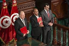 Signature de la Constitution