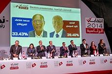 ISIE : second tour Beji/Marzouki
